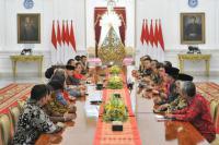 Presiden Jokowi Himpun Aspirasi dari Asosiasi Pengusaha Mikro dan Kecil