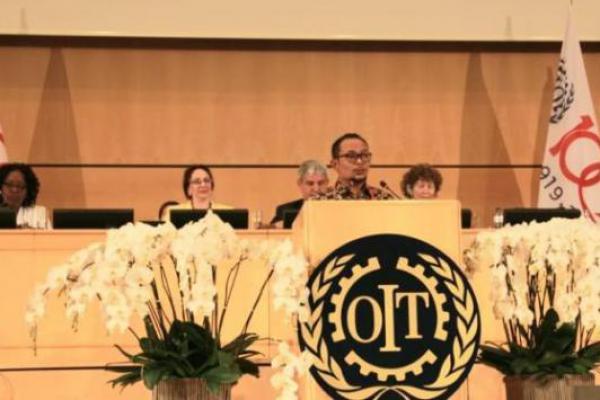 Menaker Promosikan Tiga Pilar Pembangunan SDM