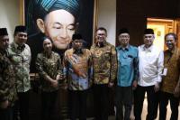 Terima Kunjungan Menteri BUMN, Kiai Said Harap Kerjasama Perkuat Islam Moderat
