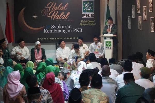 Cak Imin Hadiri Halal Bihalal dan Syukuran Kemenangan PKB Jawa Barat