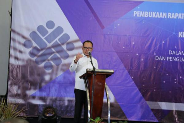 Menteri Hanif Hadiri Pembukaan Rakor Pejabat Fungsional Kemnaker