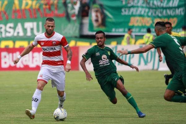 Kalahkan Persebaya 2-1, Madura United Melaju ke Semifinal Piala Indonesia 2019
