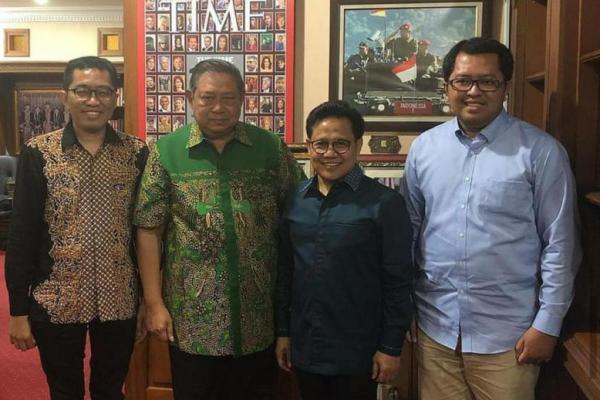 Kunjungan Cak Imin ke Kediaman SBY Murni Silaturahim