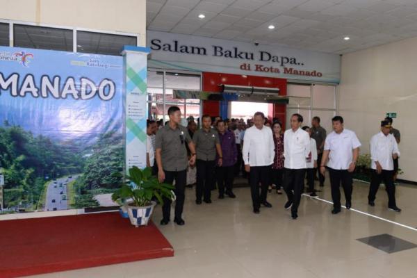 Presiden Jokowi Minta Bandara Sam Ratulangi Manado Diperluas