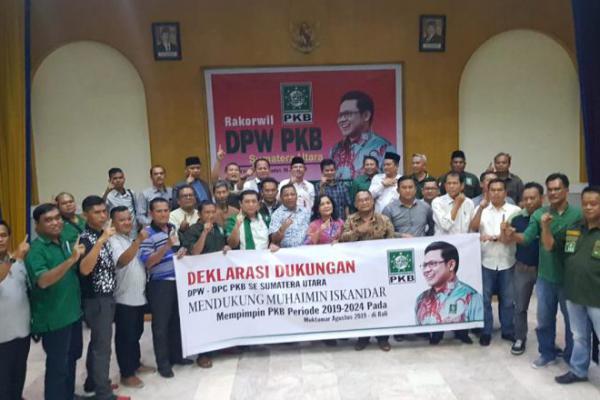 DPW-DPC PKB se Sumut Sepakat Dukung Cak Imin Kembali Pimpin PKB