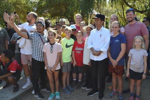 Presiden Jokowi Kunjungi Taman Nasional Komodo