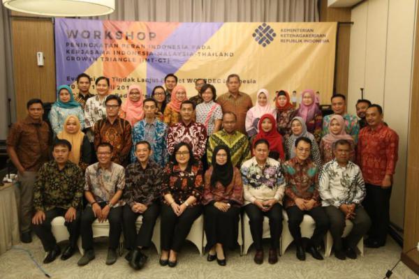 Kemnaker Gelar Workshop Peningkatkan Peran Indonesia dalam Kerjasama dengan Malaysia dan Thailand