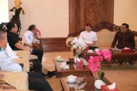 Jelang Muktamar PKB, Cak Imin Sowan Gubernur Bali