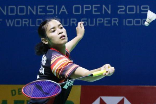 Babak Pertama Indonesia Open, Gregoria Tundukkan Wakil Thailand