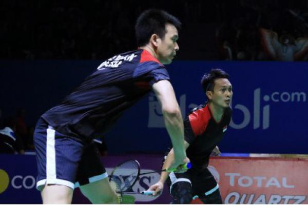Malaysia Masters 2020, Dua Ganda Putra Indonesia Amankan Tiket Semifinal