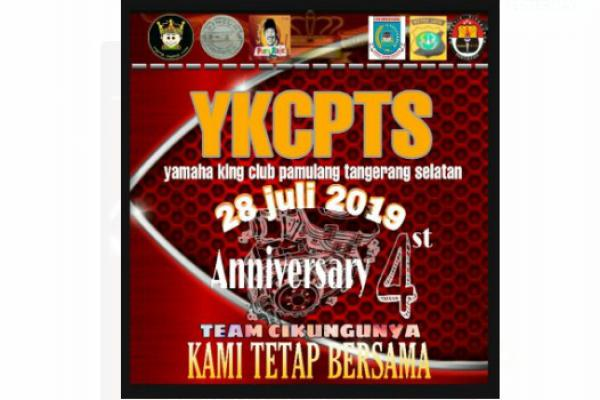 Peringati Anniversary ke-4, YKCPTS Gandeng Club RX King `Betawi Punye Raje`