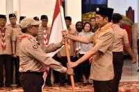 Presiden Jokowi Lepas Kontingan Pramuka Indonesia Ikuti Jambore Dunia di AS