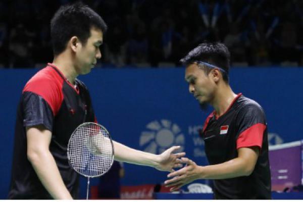 Sengit! Hendra/Ahsan Bungkam Wakil Jepang di Indonesia Open 2019