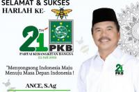 Harapan Ketua DPW PKB Sumut untuk Harlah ke-21 PKB