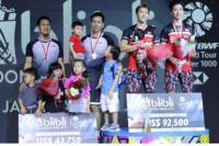 Jadi Runner Up Indonesia Open 2019, Hendra/Ahsan Kewalahan Lawan Kevin/Marcus