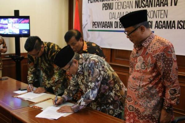 Gandeng Nusantara TV, PBNU Ingin Sebarkan Konten Islam Ramah