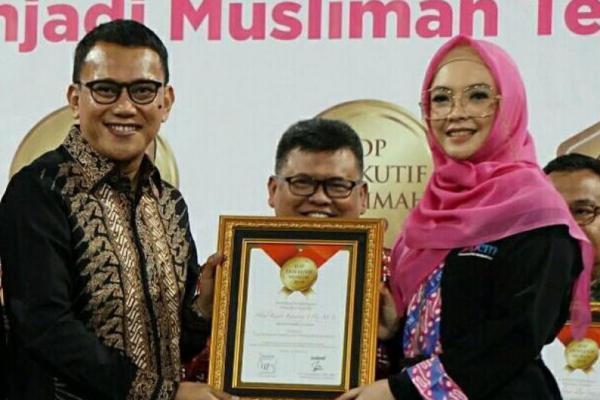 Karding Raih Penghargaan Top Eksekutif Muslim Bidang Pemerintahan