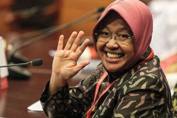 Risma Pamer Capaian Bangun Surabaya, Anggaran Lebih Kecil dari Jakarta
