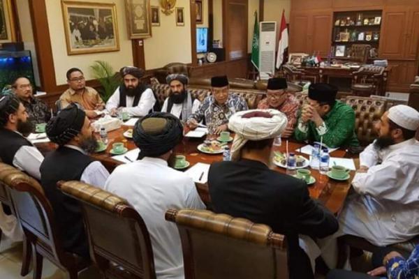 Delegasi Taliban Sowan PBNU Bahas Perdamaian di Afganistan