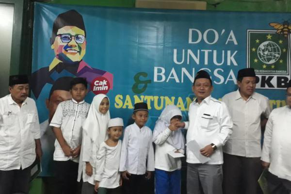 PKB Jakarta Santunan Anak Yatim, Doakan Kesuksesan Muktamar dan Cak Imin