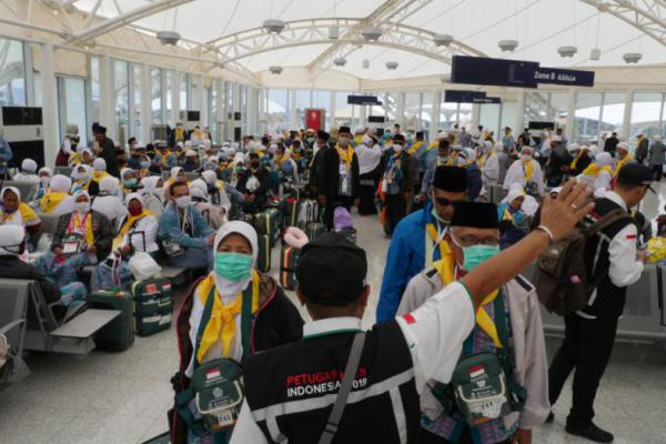 2.269 Jemaah Embarkasi Lombok Telah Tiba di Tanah Air