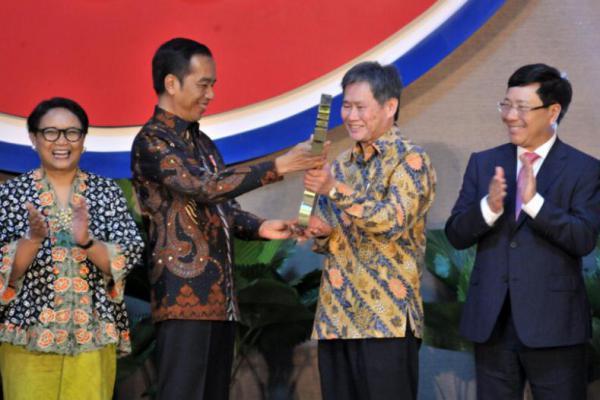 Resmikan Gedung Baru ASEAN di Jakarta, ini Harapan Presiden Jokowi