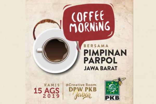 Usai Pemilu, PKB Jabar Undang Pimpinan Parpol Coffee Morning Besok