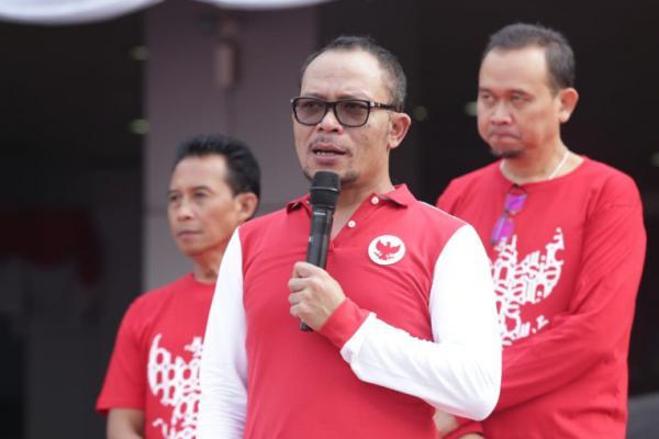 Kemnaker Gelar Pesta Rakyat Tripartit Meriahkan HUT RI ke-74