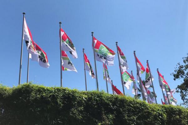 Sambut Muktamar, Bendera PKB Berkibar di Langit Bali
