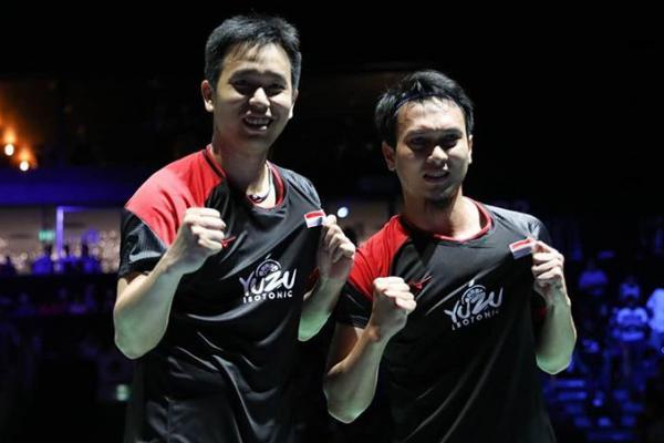 Bungkam Wakil Tiongkok, Hendra/Ahsan Melaju ke Babak Dua Malaysia Masters 2020