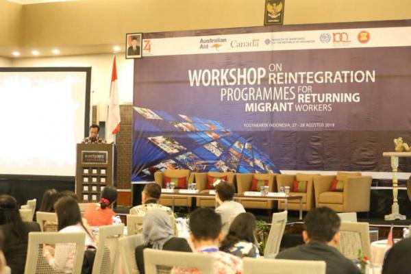 Kemnaker Gelar Workshop on Reintegration Programmes for Returning Migrant Workers di DIY