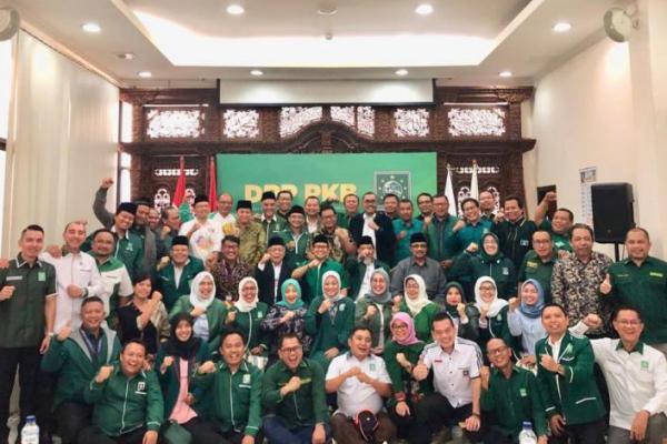 Usai Rapat Perdana, Slogan PKB Bangkit, Solid dan Menang Menggema