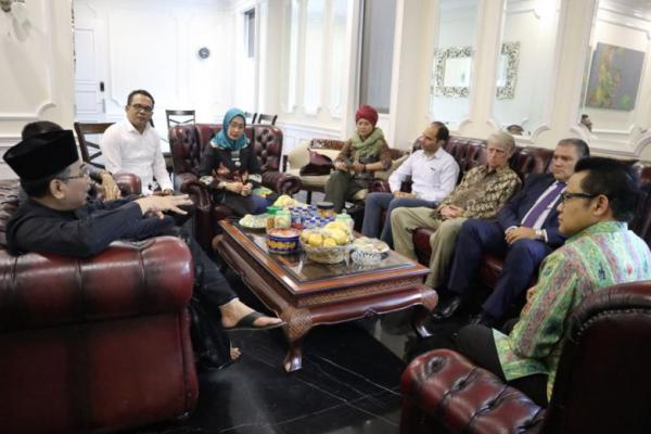 Kedua Kalinya, Gus Muhaimin Terima Kunjungan Delegasi CDI