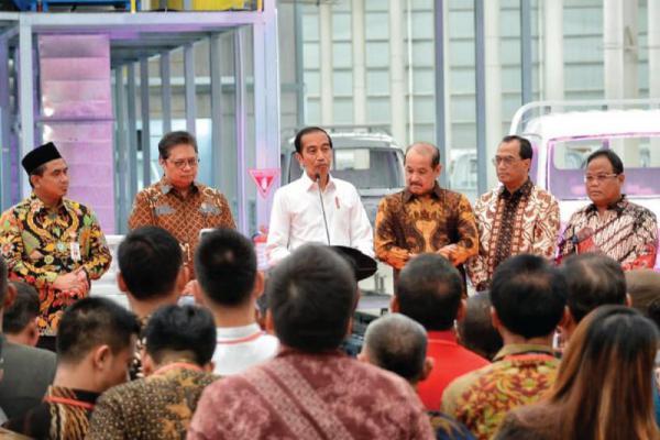 Resmikan Pabrik Mobil Esemka, Jokowi Ajak Semua Pihak Mendukung