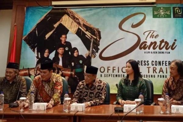 PBNU dan Livi Zheng Rilis Trailer Film The Santri