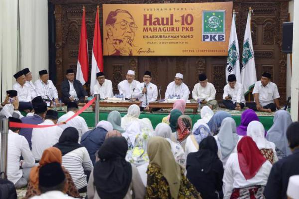 Gus Muhaimin Instruksikan PKB Tradisikan Hitungan Hijrah Peringati Haul Gus Dur