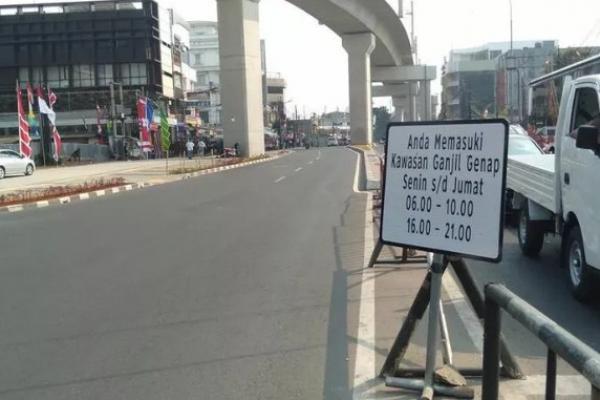 Ganjil Genap di Jakarta Berlaku Besok, Pengecualian Untuk Kendaraan ini