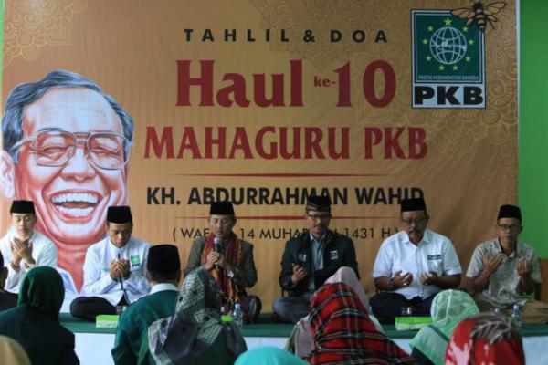 Gelar Haul Gus Dur ke-10, PKB DIY Kemas dengan Acara Berbeda