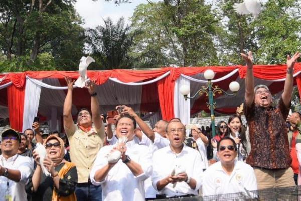 Ketua DPR RI Buka Pameran dan Lomba Burung Berkicau