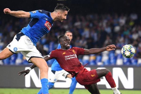 Liga Champions, Napoli Sukses Tundukkan Liverpool 2-0