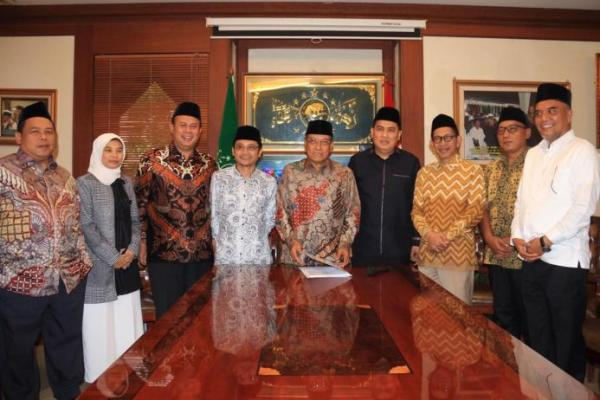 Inisiasi UU Pesantren, KH Said Aqil Siroj: Terima Kasih PKB, Terus Berjuang untuk Rakyat
