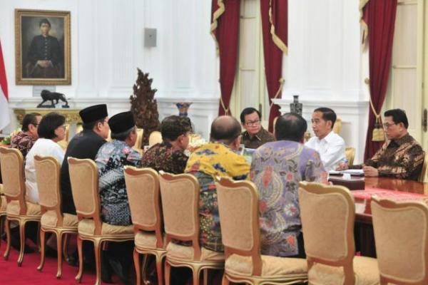Temu Tokoh Agama, Jokowi: Jangan Ragukan Komitmen Saya pada Demokrasi