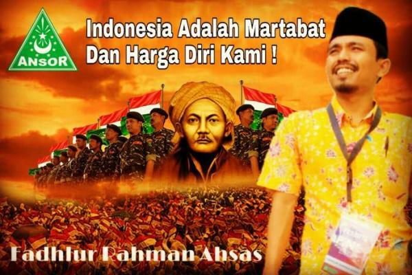Alumni PKN Ke-VII GP Ansor Gus Lur Siap Kaderisasi Banser Militan Kabupaten Lima Puluh Kota