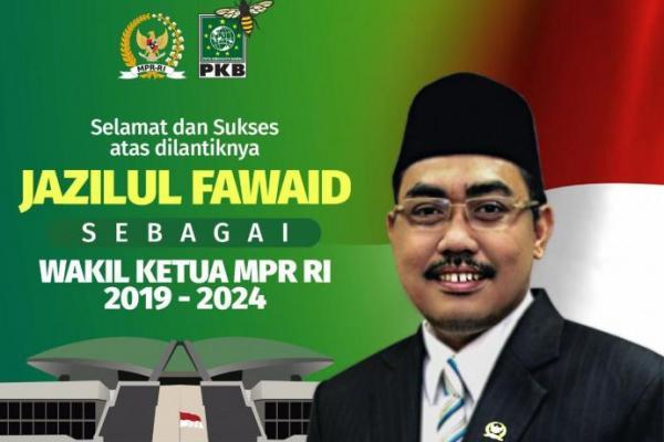 Sah! Jazilul Fawaid Jadi Wakil Ketua MPR RI 2019-2024