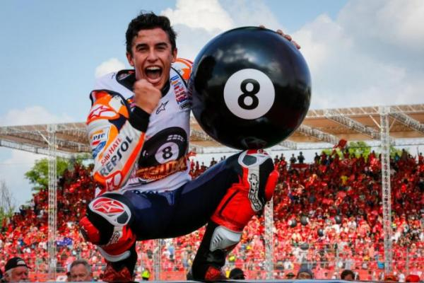 Tampil Perdana di MotoGP Portugal, Marc Marquez Puas Finis Posisi Tujuh