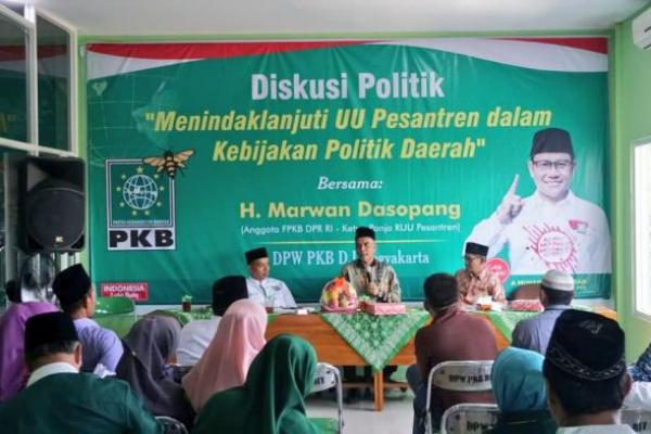 PKB DIY Diskusi UU Pesantren, Umaruddin Masdar: Hadiah Negara untuk NU