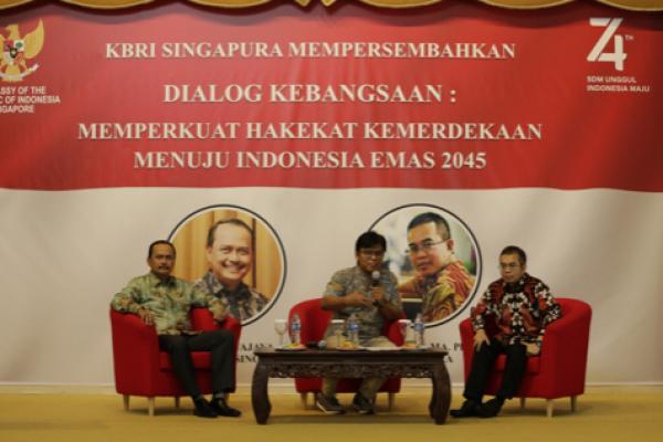 Bentengi PMI dari Radikalisme, KBRI Singapura Gelar Dialog Kebangsaan