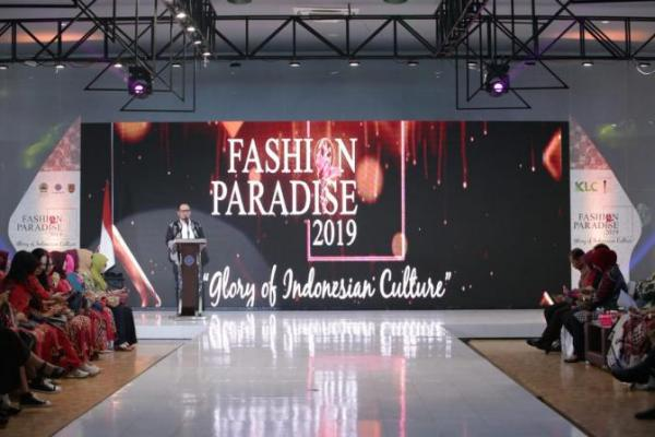 Menteri Hanif Buka Gelaran Competition Fashion Paradise di BBPLK Semarang