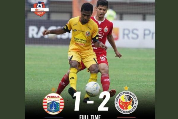 Dramatis, Semen Padang Permalukan Persija 2-1