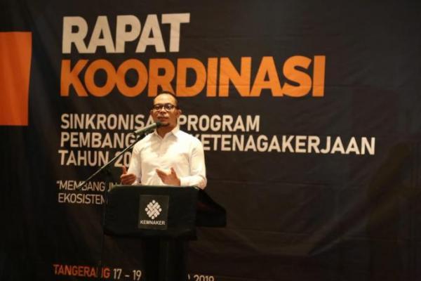 Hanif Minta Pemerintah Pusat dan Daerah Bangun Sinergitas Ekosistem Ketenagakerjaan